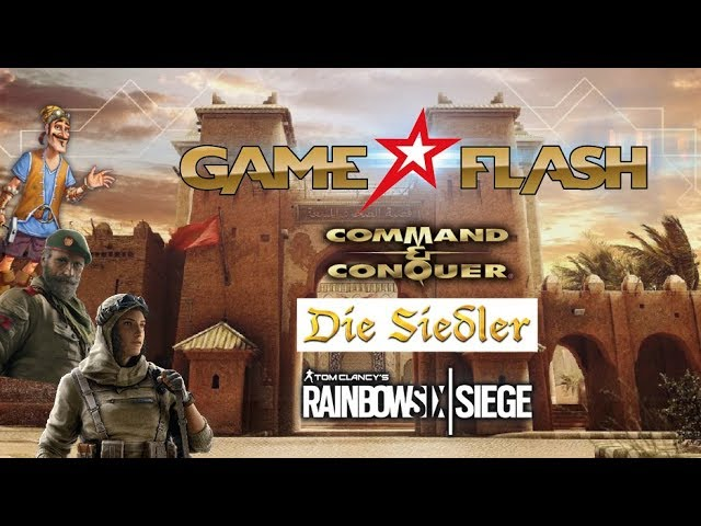 GAME FLASH: Command & Conquer Remaster | Die Siedler History Collection | Rainbow Six Siege Season 4