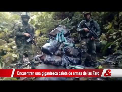 Ejército incauta gigantesca caleta de las Farc en el Putumayo