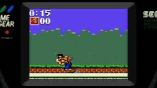 Coca-Cola Kid (Game Gear) Game over