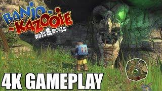 Banjo Kazooie Nuts & Bolts 4K Gameplay ( Xbox One X  Enhanced)