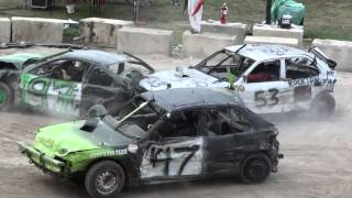Woodstock Fair Demolition Derby | Mini Smash
