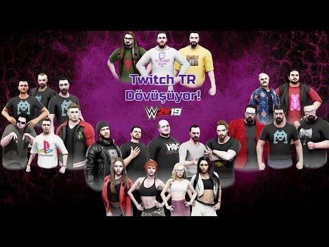 Twitch Türkiye Dövüşüyor | WWE