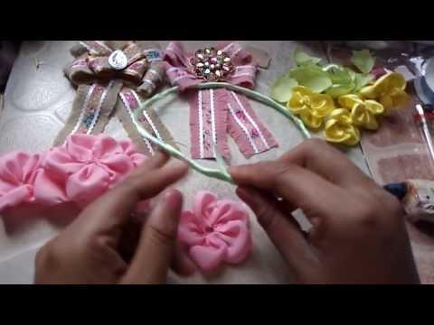 Corona de flores para nia como hacer una corona de flores YouTube
