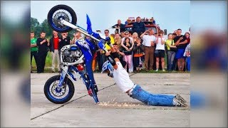 EPIC Moto FAIL & WIN Compilation 2018 Crashes