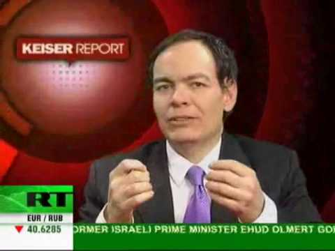 Max Keiser - Goldman Sachs is Ace of Clubs in Global House of Cards