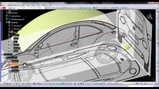 Video Tutorial on Modeling VW Beetle in CATIA v5 Part 01