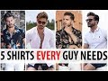 5 Summer Shirts Every Guy Needs | Men's Fashion | Alex Costa