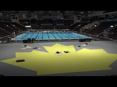WFCU Bowl Transformed in to World Class Swimming Venue
