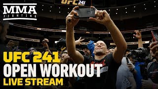 UFC 241 Open Workout - MMA Fighting