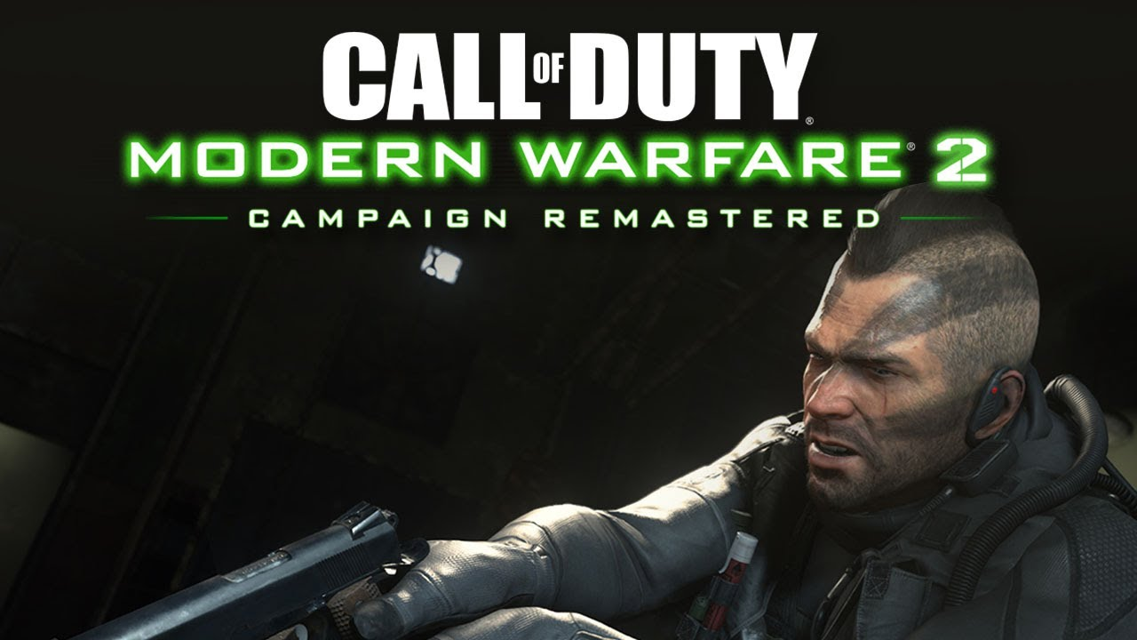 Call Of Duty Modern Warfare 2 S Remastered Marketing Campaign Is