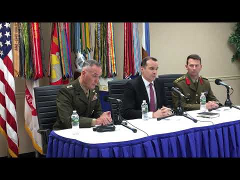 Full press conference with Gen. Dunford on Countering Violent Extremist Organizations