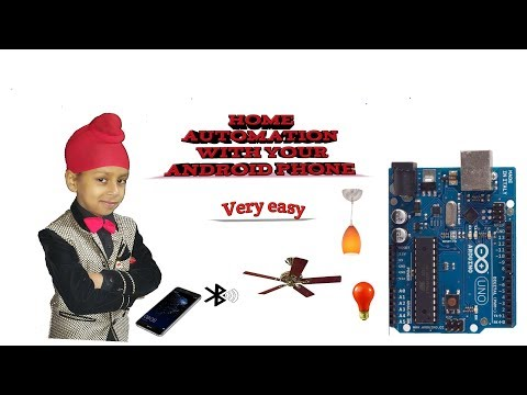 Control your Home electrical equipment's by Android phone.....