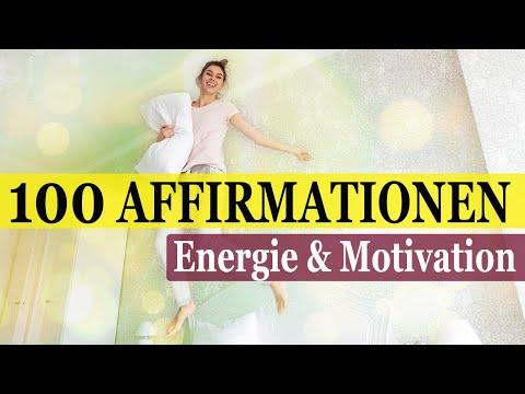 100 Positive 'Morgen' Affirmationen für ENERGIE & MOTIVATION   285Hz + 20 Hz   from YouTube · Duration:  32 minutes 31 seconds