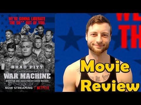 War Machine (2017) - Netflix Movie Review (Non-Spoiler)