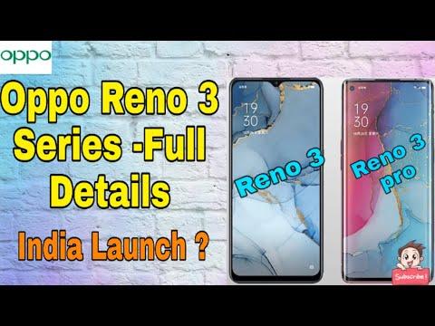 Oppo Reno 3 & 3 Pro India Launch | Oppo Reno 3 Series Full Infomation