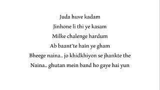 Naina song - Dangal movie
