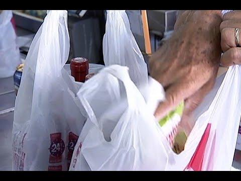 Proposta em análise no Senado proíbe uso de sacolas plásticas