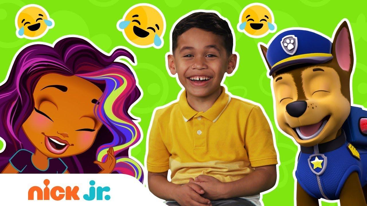 Chuckle w/ PAW Patrol, Abby Hatcher, Bubble Guppies & Sunny Day | Kid Jokes | Nick Jr.