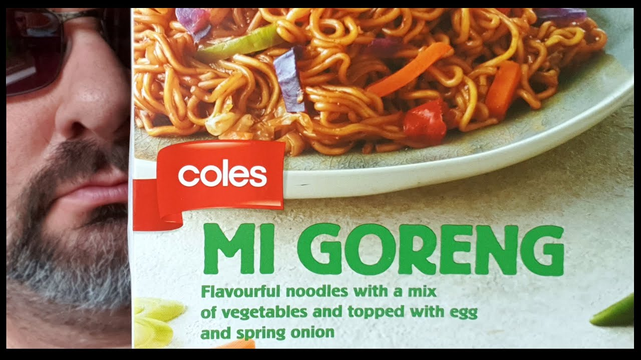 Microwave Monday Ep 4 Coles Mi Goreng Frozen Meal Youtube