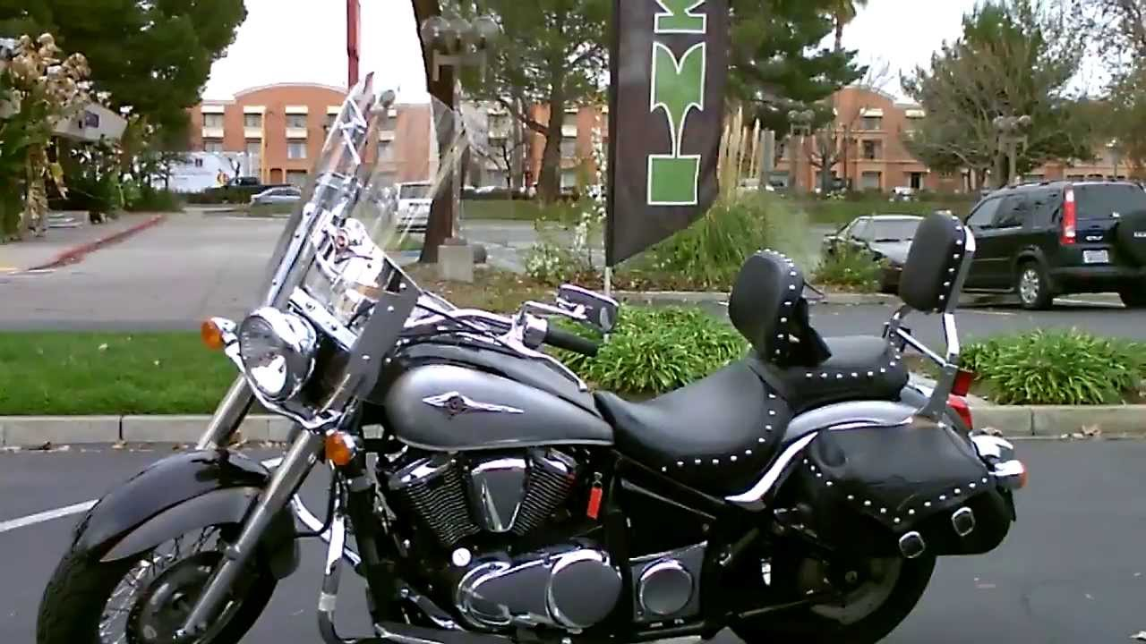 Contra Costa Powersports Used 2007 Kawasaki Vulcan 900 V Twin Luxury Touring Cruiser Motorcycle