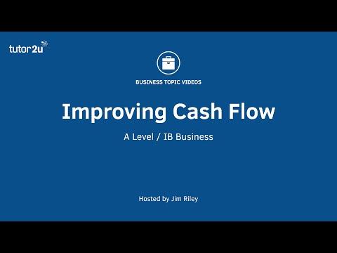 Cashflow Management - Improving Cash Flow