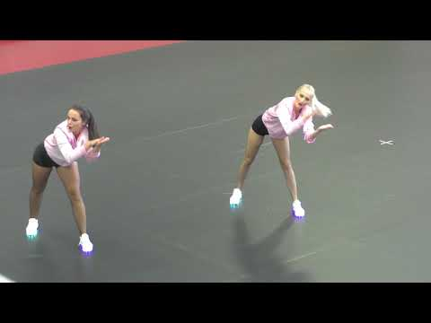 GLITTER STARS DENISA A MICHAELA Doubles Hip Hop Senior at MMD 2018