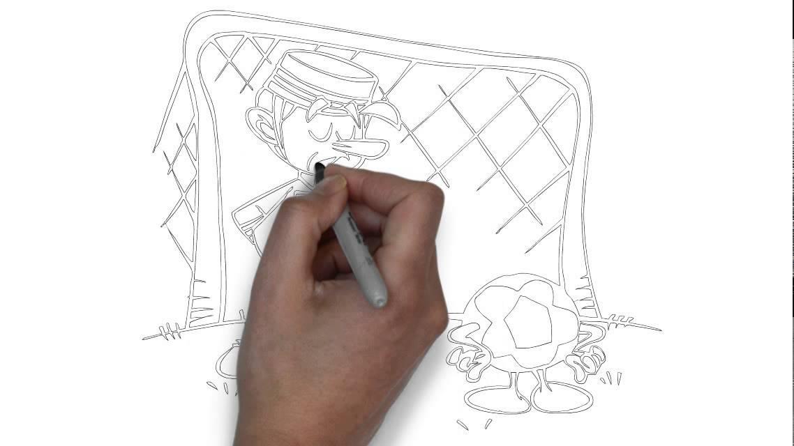 Wie Zeichnet Man Ein Torwart