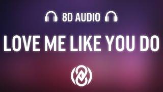 Ellie Goulding - Love Me Like You Do (Lyrics)   8D Audio 🎧