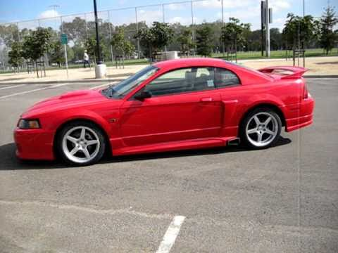 2002 Red Ford Mustang Roush Stage 2 Walkaround  YouTube