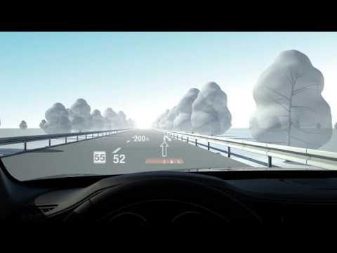 BMW 7 Series: Head Up Display