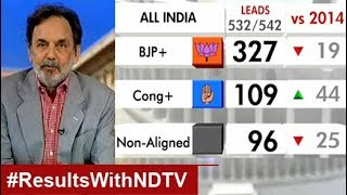 Election Results With Prannoy Roy: Total BJP Sweep, India Chooses Modi 2.0, Show Leads