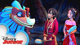 Spring Cleaning | Discovering the Magic Within | Elena of Avalor | Disney Junior