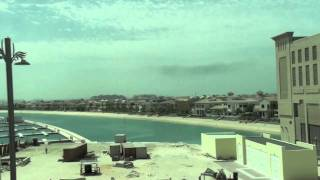 Dubai, United Arab Emirates - Palm Jumeirah Monorail - Atlantis to Gateway HD (2011)