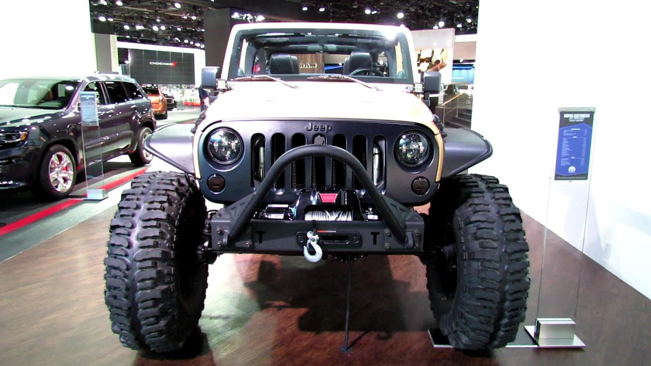 2013 jeep wrangler sand trooper exterior and interior walkaround 2013 detroit auto show. Black Bedroom Furniture Sets. Home Design Ideas