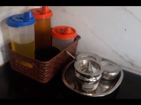Kitchen Storage /Oil Organise