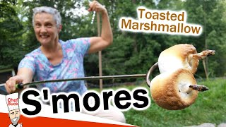 S&#39mores Toasted Marshmallow ...peanut butter makes the BEST smores