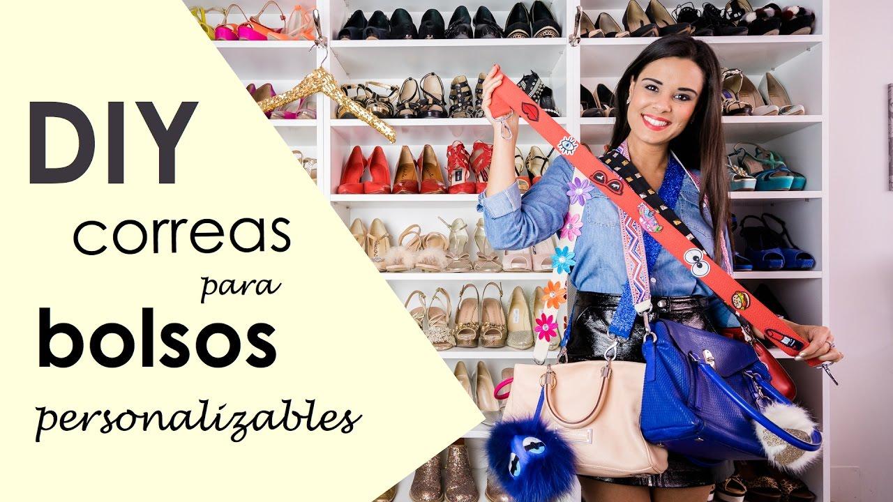 Vídeo DIY Correas para bolsos personalizables DIY, Youtube