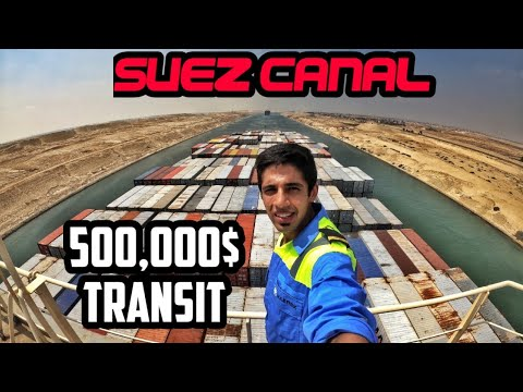 We Paid $500,000+ Dollars To Pass SUEZ CANAL I In 10 Minutes |