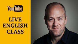 Live English class | March 20, 2018 | Canguro English