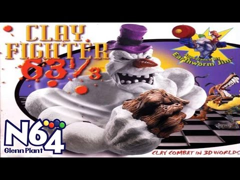 Clayfighter 63 1/3 - Nintendo 64 Review - HD
