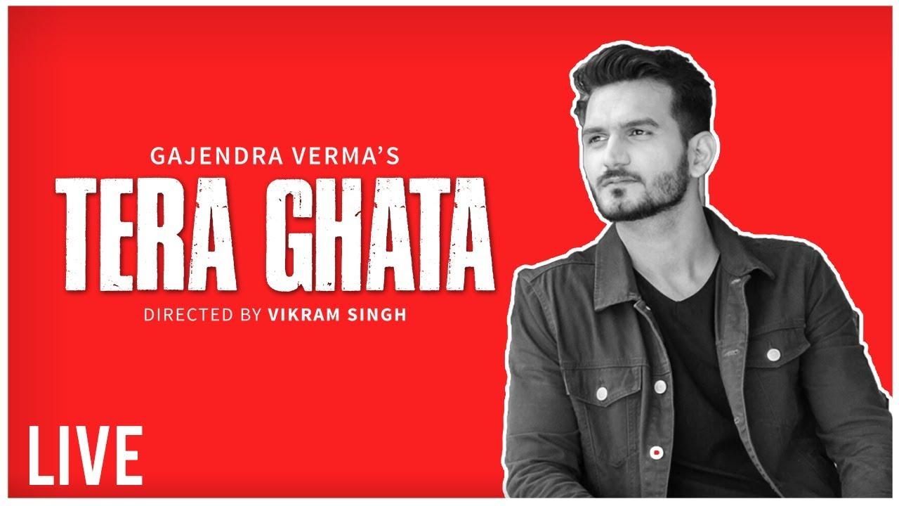 Gajendra Verma Announcing Tera Ghata Ft. Karishma Sharma | Music Video