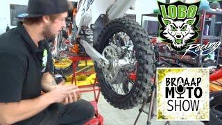 Wymiana napędu KTM SX250F | How to change sprockets and chain KTM SX250F | Broken HUB!!!