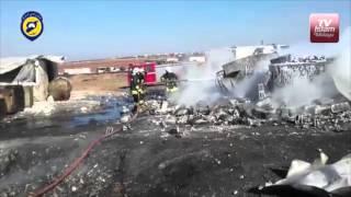 Rusia bom pasar minyak di Idlib