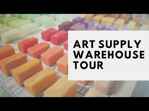 Secret Tour of a Mosaic Art Supply Warehouse! Absolutely Amazing!