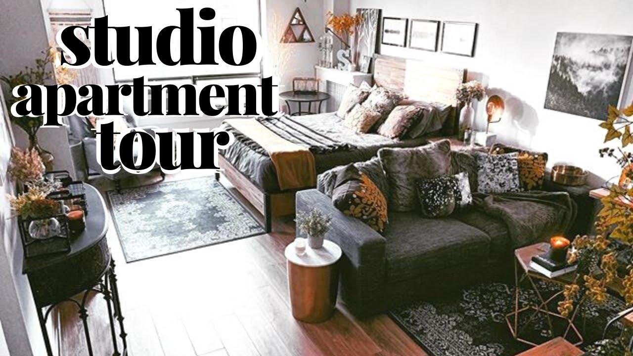 Studio Apartment Tour Rustic Studio Apartment Ideas 500 Sq Ft Youtube,Background Design And Technology Clipart