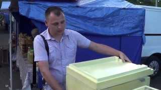 Улей для пчел из пенополиуретана сделан в Украине, by Entomologist in Ukraine