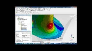 Видеоурок CADFEM VL1504 - Определение параметров механики разрушения в системе лопатка диск