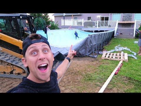 Download Youtube: BUILDING HUGE FOAM PIT/POOL!!
