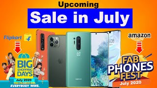 Amazon Fab Phone Fest Sale | Flipkart Big Shoping Days Sale