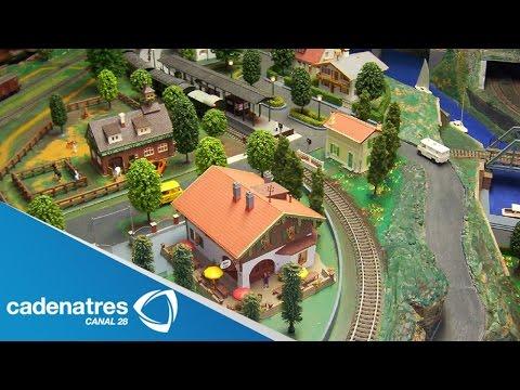 Crean en Alemania modelo del tren más grande del mundo